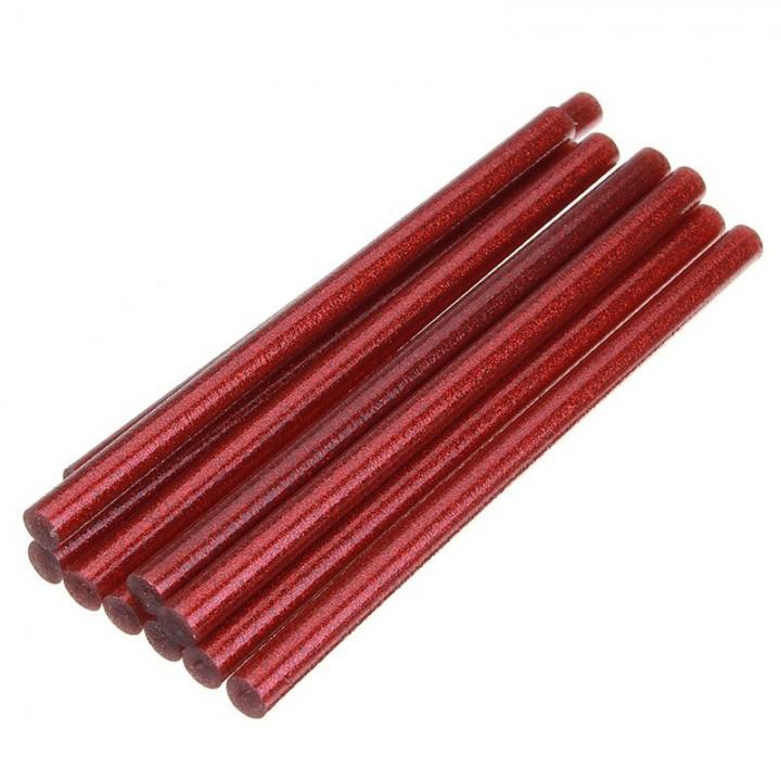 Стержень для клеевого пистолета (красный) 7,2 мм.