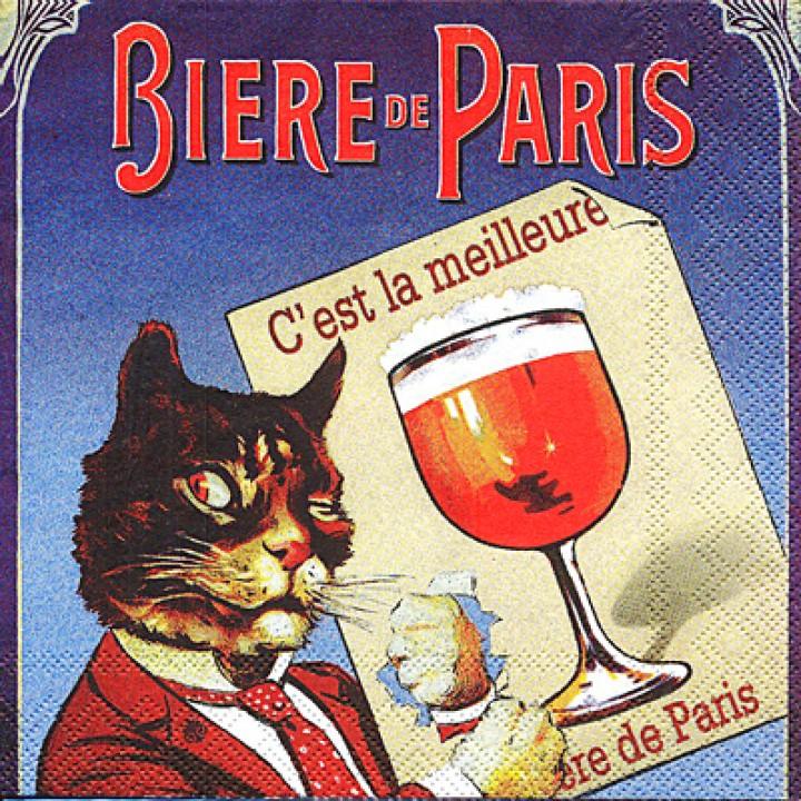 """Cалфетка """"Biere de Paris"""""""