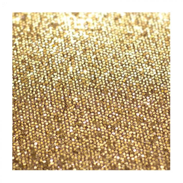 Глиттер мелкий, светлое золото