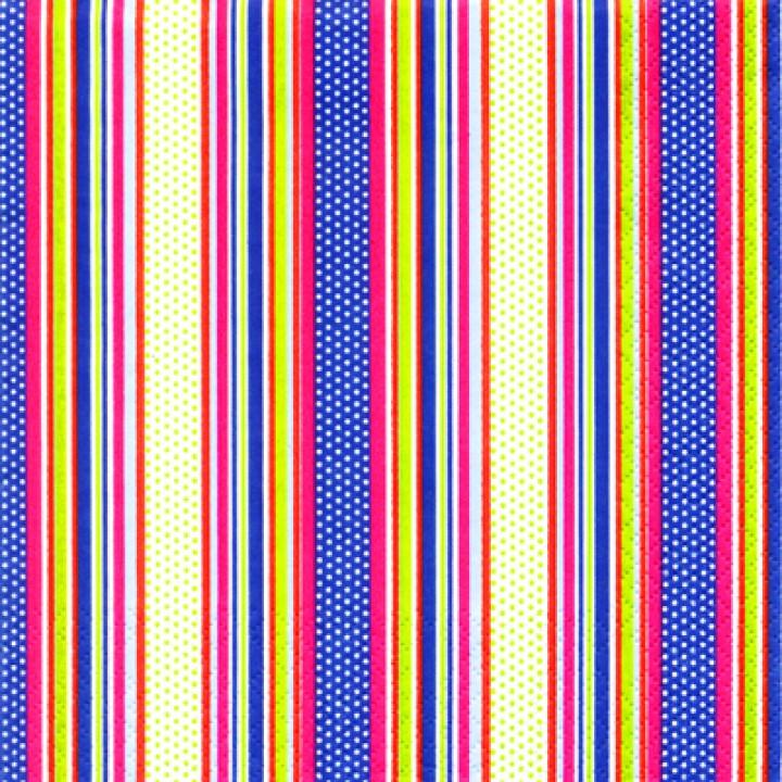 Фон-цветные полоски с горохом