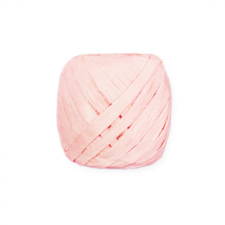 Лента-рафия, цвет розовый.