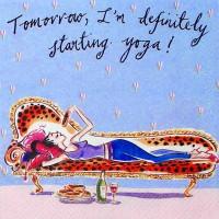 Завтра йога