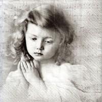Салф. грустная девочка и ноты
