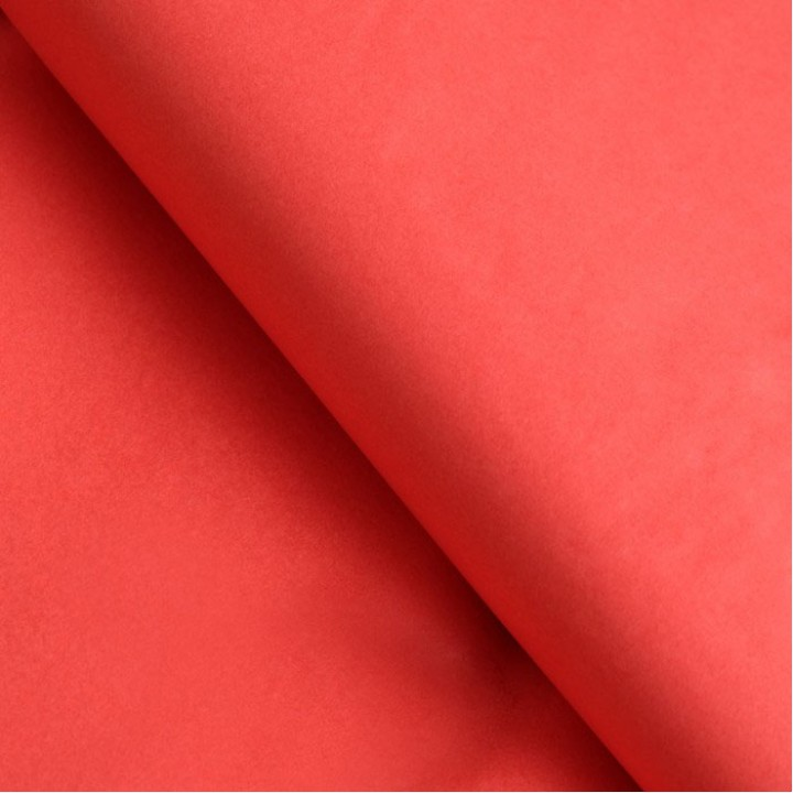Бумага тишью, морковный, 50х65 см. 10 л.