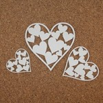 Сердечки и любовь