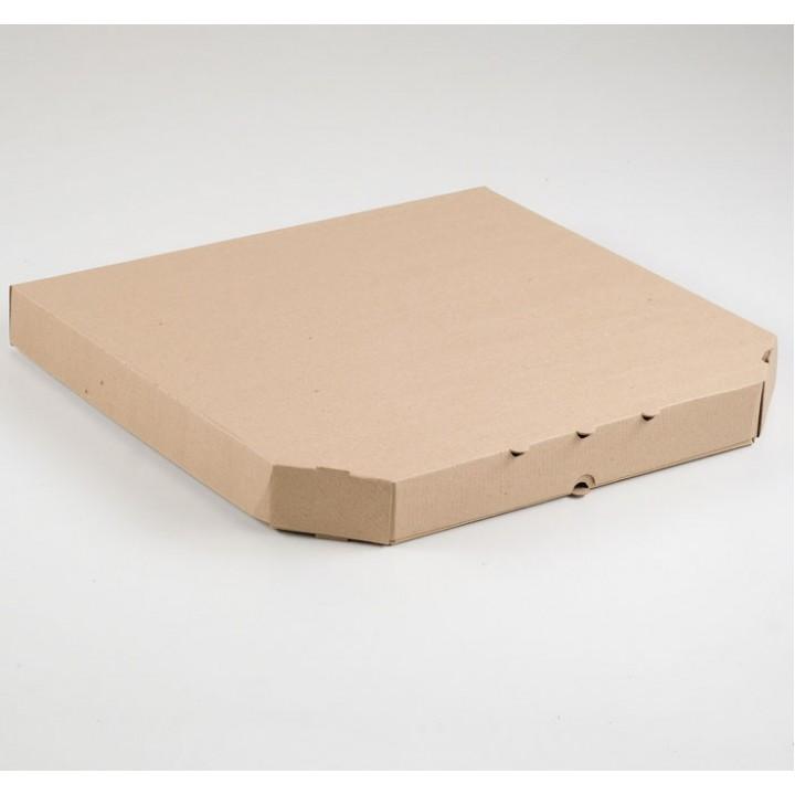 Крафт коробка, 43х43х6 см.