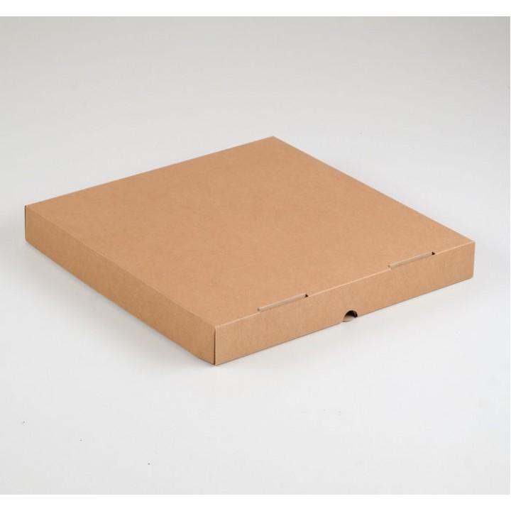 Крафт коробка, 33х33х4 см.