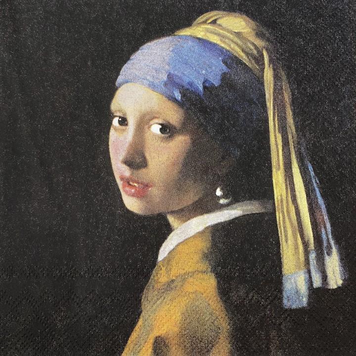 Салф. Девушка с жемчужной сережкой