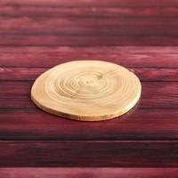 """Спил """"Еловый"""", круглый,  диаметр 4-7 см. (5шт.)"""