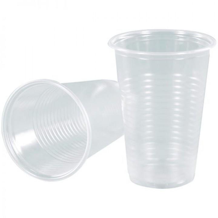 Пластиковые стаканы, 200 мл. 5 шт.