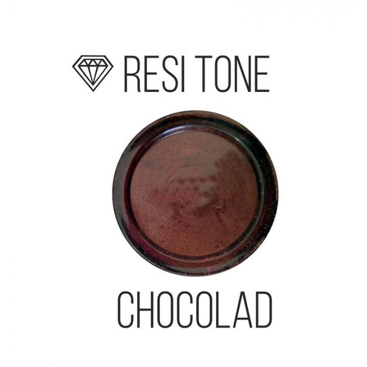 Прозрачный тонер ResiTone, шоколадный, 10мл.