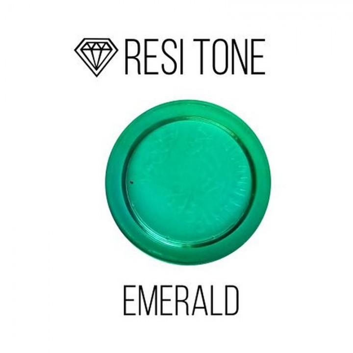 Прозрачный тонер ResiTone, изумрудный, 10мл.