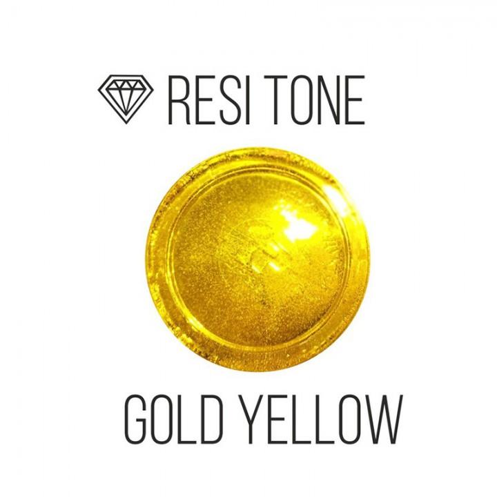 Прозрачный тонер ResiTone, желтый золотистый, 10мл.