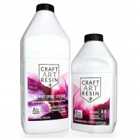 Эпоксидная смола CraftArtResin 1.5кг