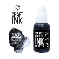 Алкогольные чернила Craft Ink, Black, 20мл.