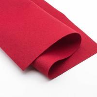 Фетр, красный, 1,5мм.