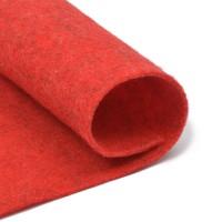 Фетр, красный, 2,5мм.