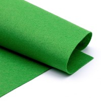 Фетр, темно-зеленый, 1,5мм.