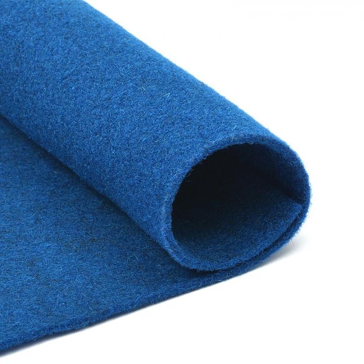 Фетр, синий 1,5мм.