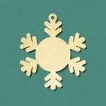 Бирочки - снежинки