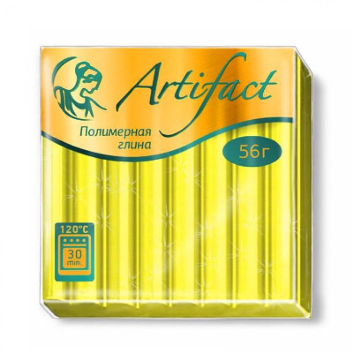 Пластика Artifact, перламутровый жёлтый 56 гр.